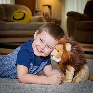 plush lion stuffed animal male lion boy floppy toy