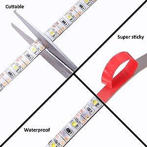 cuttable led light strip