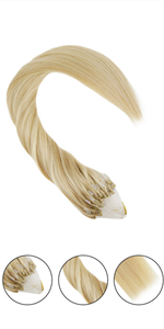 micro ring hair extensions human hair