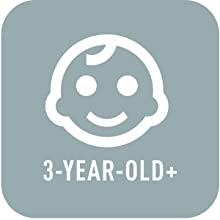 For 3 years old & up