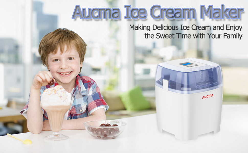 Aucma Ice Cream Maker
