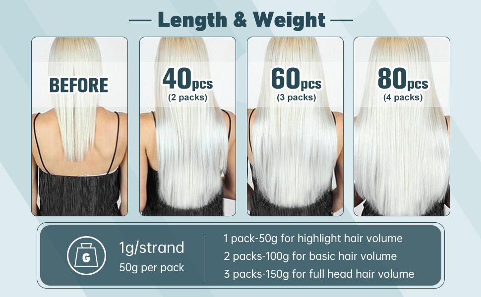 length & weight