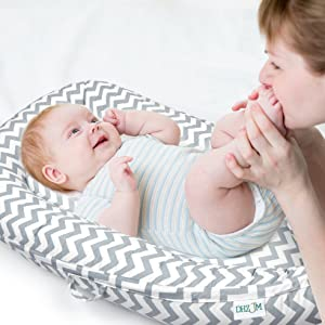 baby lounger pillow for newborn