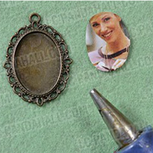 Oval Clear Glass Tile Magnify Cabochons for Bezel Tray Photo Cameo Pendant Craft Jewelry Making