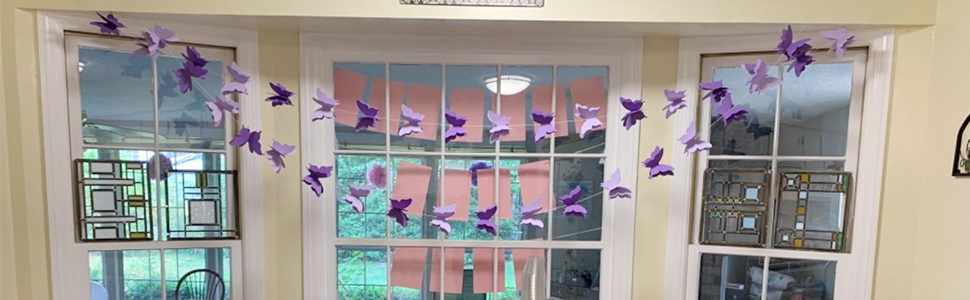 Butterfly Banner Decorative
