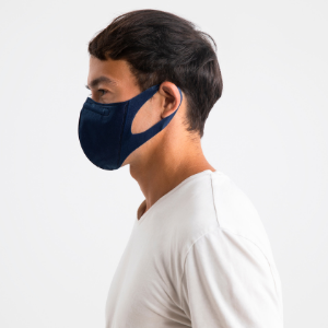 navy ergonomic face masks mask disposable 95 individually wrapped washable breathable facemask 3m