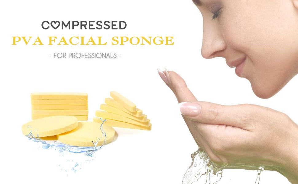 Facial Sponge Yellow
