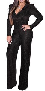 glitter jumpsuits for women