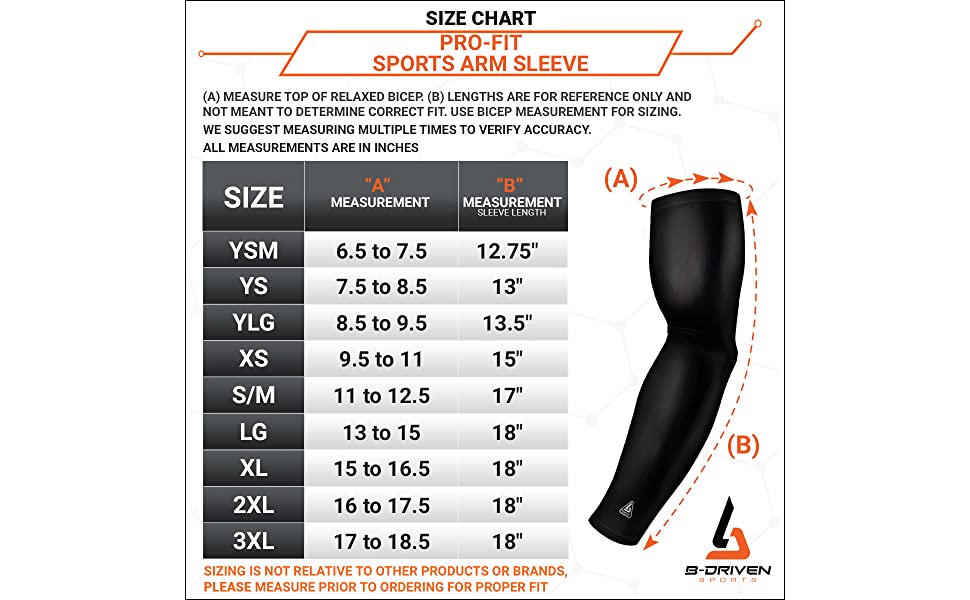Pro-Fit Sports Arm Sleeve