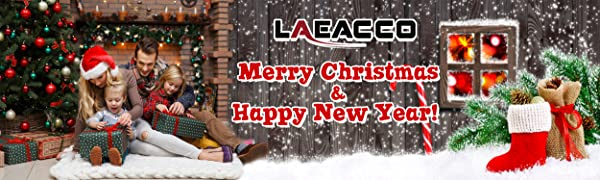 Laeacco Christmas & Happy New Year