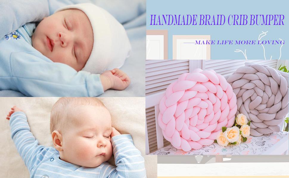 handmake crib bumper
