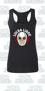 Wrestling Retro Vintage Wrestler Heel Babyface Fashion Tank Top Tee for Women