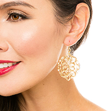 resin acrylic acetate earring earrings drop dangle women fashion jewelry jewellery style statement