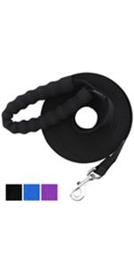 dog leash dog training leash dog leads for yard dog tie out foot dog leash extra long