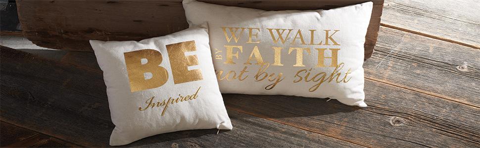 Fontanini, Roman, Inspirations Store, Joseph's studio, throw pillow