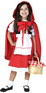 red riding hood, costume, woods, fairytale
