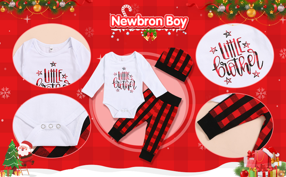 baby boy clothes little brother romper long pants outfits