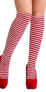 Red and White socks, Witch, costumes