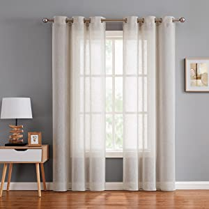"""grey curtains for living room bathroom 84inch long 40""""W x 84""""L/ Panel、80""""W x 84""""L/ Pair"""