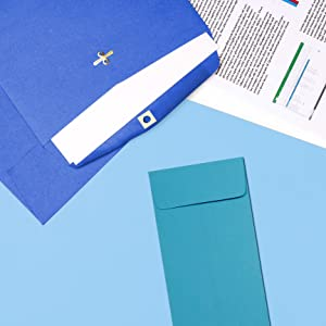 blue #12 policy envelope