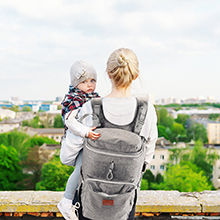 Large Diaper Bag Backpack For Twins Or Two Kids Expandable Grey Baby Diaper Bag For Mom Dad Extra Large Travel Diaper Backpack With Usb Charging Port Changing Pad Stroller Straps