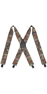 Camo Suspenders for Men