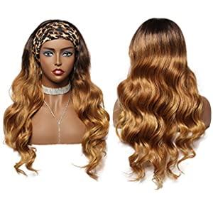 headbands for black women blonde headband wig wig with headband attached headband wig blonde