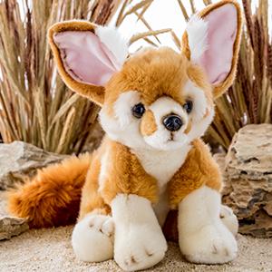 plush fennec fox stuffed animal toy wildlife