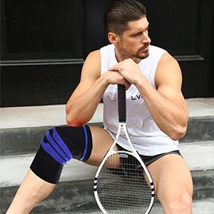 black knee brace for men