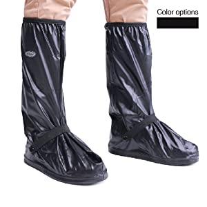 Tall rain shoe covers