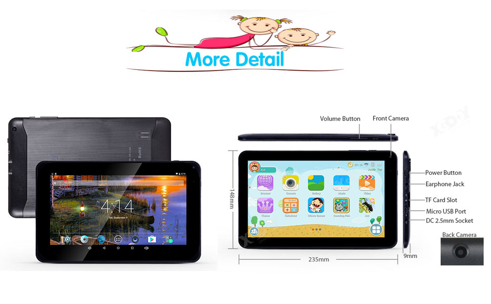 WiFi Android Tablet