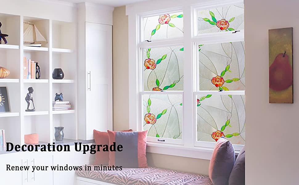 rose window film