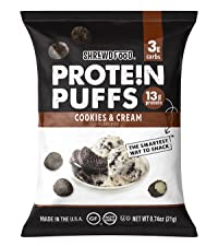 Cookies and Cream Protein Puffs