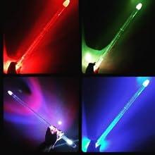 light up led flashing flash drumsticks fun kids professional sticks light up practice