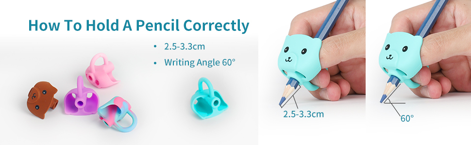 Pencil Grips for Kids Handwriting