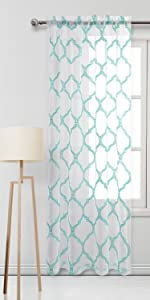 Moroccan Sheer Curtains