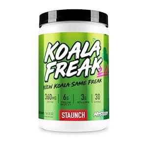 Staunch Pre-Workout Preworkout Pre Workout Koala Freak 30 Servings