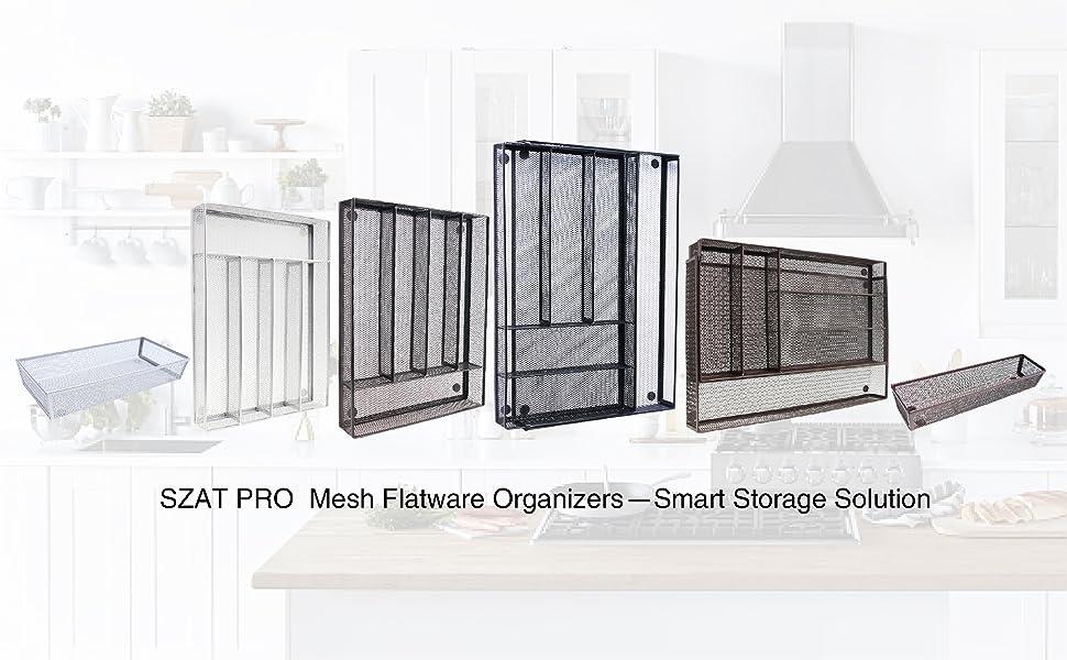 Drawer Organizers Utensil Storage Kitchen Organization