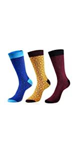 diamond dress socks