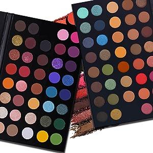 39 colors eyeshadow palette