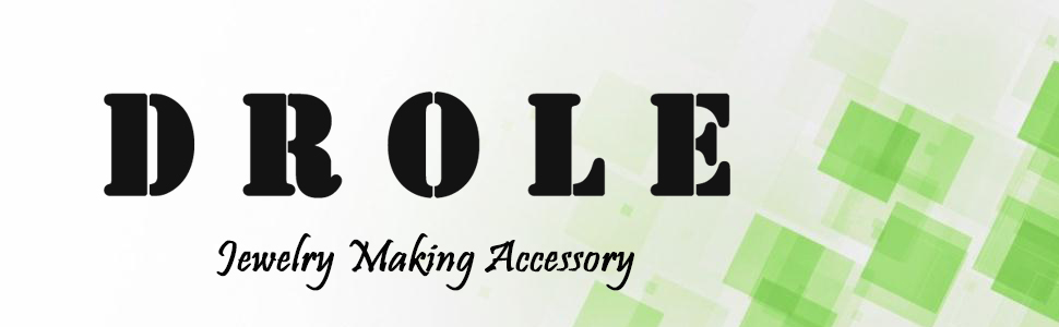 Brand name DROLE, store name DROLE Jewelry Making