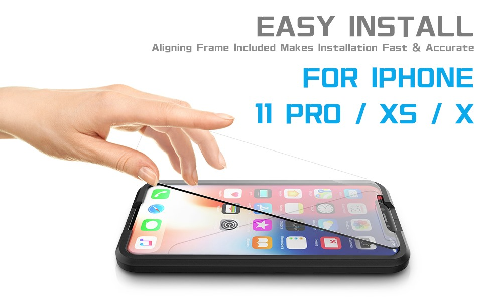 iPhone 11 Pro / XS / X screen protector