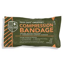Swiss Safe emergency compression bandage