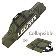 Portable Double-Layer Fishing Rod Bag