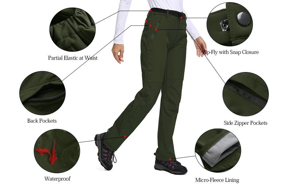 Jessie Kidden Womens Hiking Trousers Quick Dry Convertible Stretch Lightweight Outdoor UPF 40 Fishing Safari Travel Shorts Walking Pants