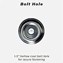 Service Caster, bolt hole