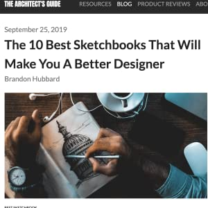 RATED BEST SKETCHBOOK for architechs