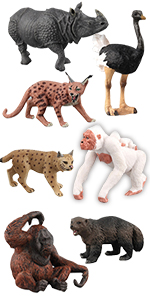 wild animal figue model toy