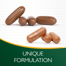 Unique Formulation Eliminates the Need for Separate Multivitamins or Omega-3 Supplements