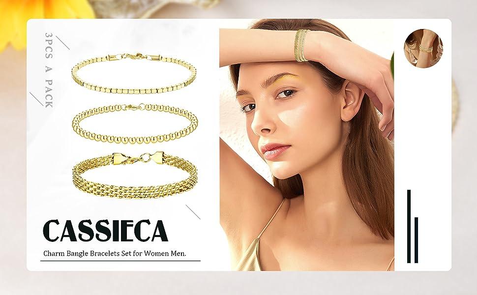gold chain bracelet